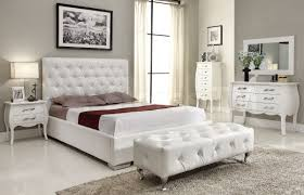 White Bedroom Set Furniture Michelle 4 Pc Bedroom Set White 2 256 75 Furniture Store