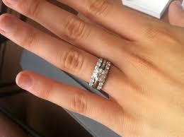2 wedding bands best 25 wedding bands ideas on moissanite