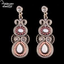 boucle d oreille mariage dvacaman marque bohème perles boucles d oreilles turquie de