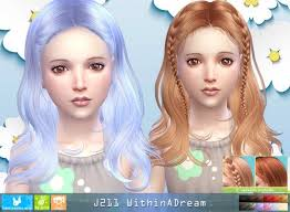childs hairstyles sims 4 j211 withinadream child hair pay at newsea sims 4 sims 4 updates