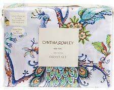 Cynthia Rowley Duvet Set Cynthia Rowley Duvet Covers And Bedding Sets Ebay