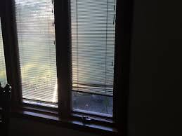 pella bay windows with built in blinds window treatments design