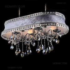 Linear Chandelier With Shade Resin Antler Parchment Bell Shades Island Pool Table 12 Light