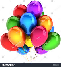 New Years Eve Balloon Decorations by Party Balloons Happy Birthday Balloon Decoration Stock