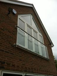 Dormer Window With Balcony Bespoke Oxford Glass Juliet Balconies