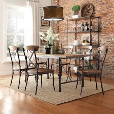 Rustic Industrial Dining Chairs Nelson Industrial Modern Rustic Cross Back Dining Chair By Inspire