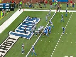 lions beat cowboys on stafford spike td gifs business insider