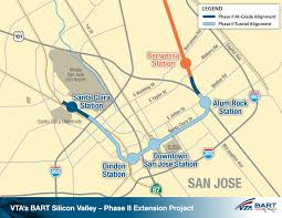 Map Of Bart Stations by Caltrain Hsr Compatibility Blog San Jose Done Right