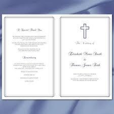 catholic wedding program template the 25 best catholic wedding programs ideas on