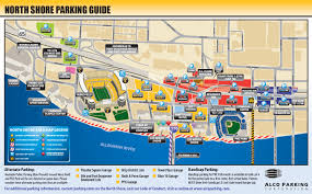 University Of Tennessee Parking Map by North Shore Alco Parking
