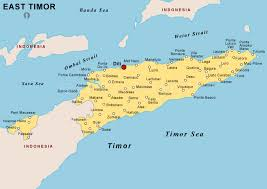 east political map east timor political map political map of east timor political