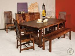 mission style dining room set 74 best mission style furniture images on amish