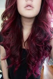 black hair to raspberry hair red violet hair color hair pinterest raspberry hair auburn