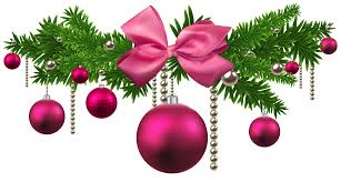 pink christmas balls decoration png clipart gallery