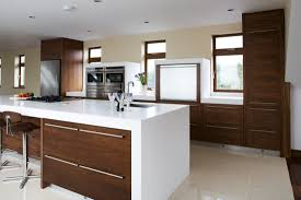 what is an open floor plan contemporary kitchens high gloss cross grain veneer armagh