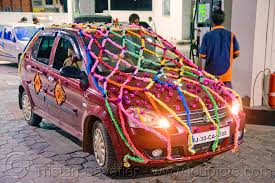 indian wedding car decoration car decorated for wedding india