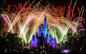 disney halloween theme background disneyland castle fireworks wallpaper