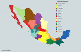 Jalisco Mexico Map by Alternate States Of America Mexico States Alternate History