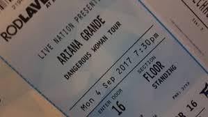 Rod Laver Floor Plan 2xga Ariana Grande Tickets Rod Laver Arena Melbourne 4 9 17