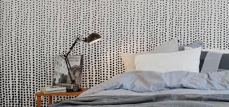 papier peint tendance chambre papiers peints pour une chambre en noir et blanc papier peint