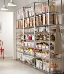 metal kitchen furniture wooden kitchen cabinet with chrome metal food pantry storage