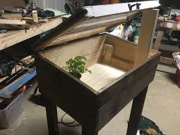 how to build a cold frame container garden for winter clayton blog