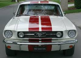 ford mustang gt white stripes 1966 ford mustang gt k mjc cars pristine cars