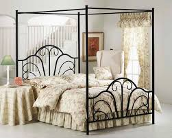 italian canopy bed unique iron canopy bed ideas