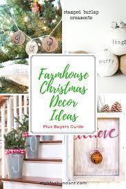 farmhouse christmas decor ideas my life abundant