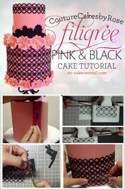 Lace Cake Decorating Techniques 38 Best Sugarveil Termékekkel Készültek Images On Pinterest