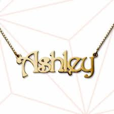 plated gold name necklace 18k gold plated silver name necklace frugal finds nyc