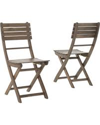 Folding Dining Chairs Wood Deal Alert Vicaro Outdoor Acacia Wood Foldable Dining Chairs Set
