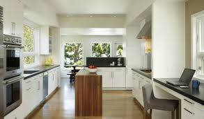 design white and wood great kitchen layouts smart simple kitchen
