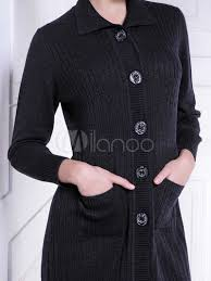womens black cardigan sweater womens black cardigan sweater with pockets fashion s coat 2017