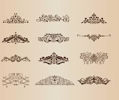 vintage ornaments free vector 14 159 free vector for