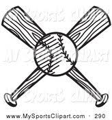 baseball bat coloring pages royalty free stock sports designs of printable coloring pages