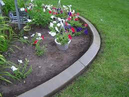 how to make a flower bed edging in your house garden design