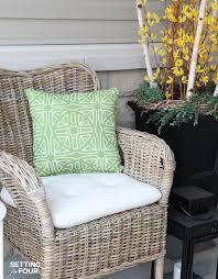 Waterproof Chair Pads Best 25 Waterproof Cushions Ideas On Pinterest Outdoor Cushions