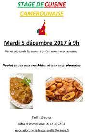 stages de cuisine stage de cuisine camerounaise millau viaduc de millau office