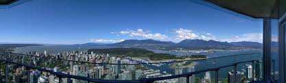trumps penthouse view from the trump tower penthouse 69th floor vancouver