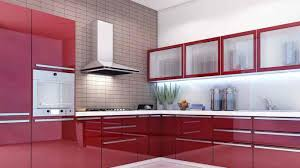 modular kitchen colour combination cream modern gloss kitchen