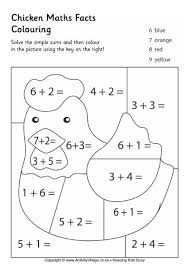 farm animal maths worksheets