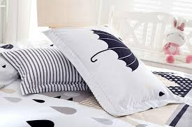 28 colors bedding set 100 cotton for queen size duvet cover white