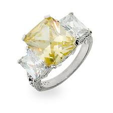 canary engagement rings inspired canary cz three engagement ring s addiction