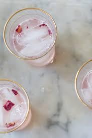 rose u0026 rhubarb syrup cocktail ideas and recipes drink menu