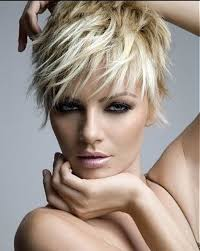 short haircut for long face hair style and color for woman