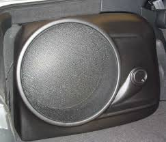 q customs factory fit subwoofer enclosures black 2002 up acura