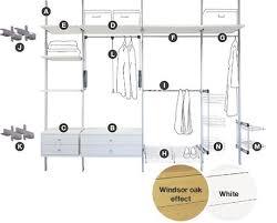 Bedroom Furniture B And Q Aura Interior Storage System Sliding Wardrobe Door Interior