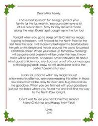 love this letter from your elf on the shelf to say goodbye after