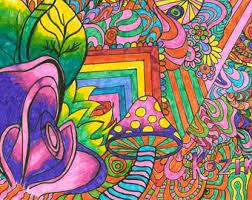 Trippy Room Decor Psychedelic Digital Download Psychedelic Art Trippy Art